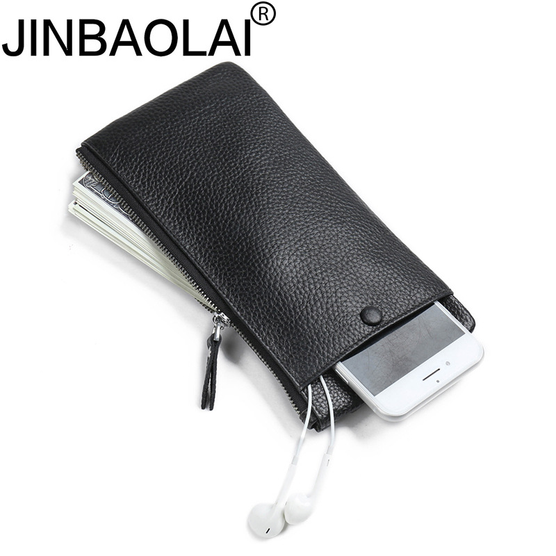 Handy Portfolio Genuine Leather Zipper Phone Men Wallets Purse Male Clutch Bags Dollar Portomonee Walet Cuzdan Wristlet Vallet mini ip camera wifi micro sd cctv security camera 720p wireless webcam audio surveillance hd night vision cam video telecamera