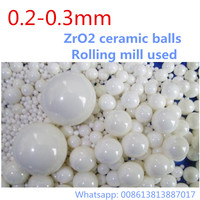 1kg Lot 0 2 0 3mm Ball ZrO2 Ceramic Balls Zirconia Balls Used For Planetary Mill