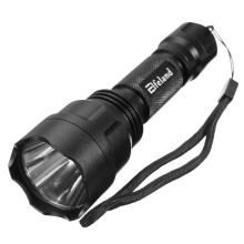 Elfeland Waterproof 5 modes 2000 Lumen T6 C8 LED light Tactical Flashlight Cycling Torch+18650 Rechargeable battery(China)