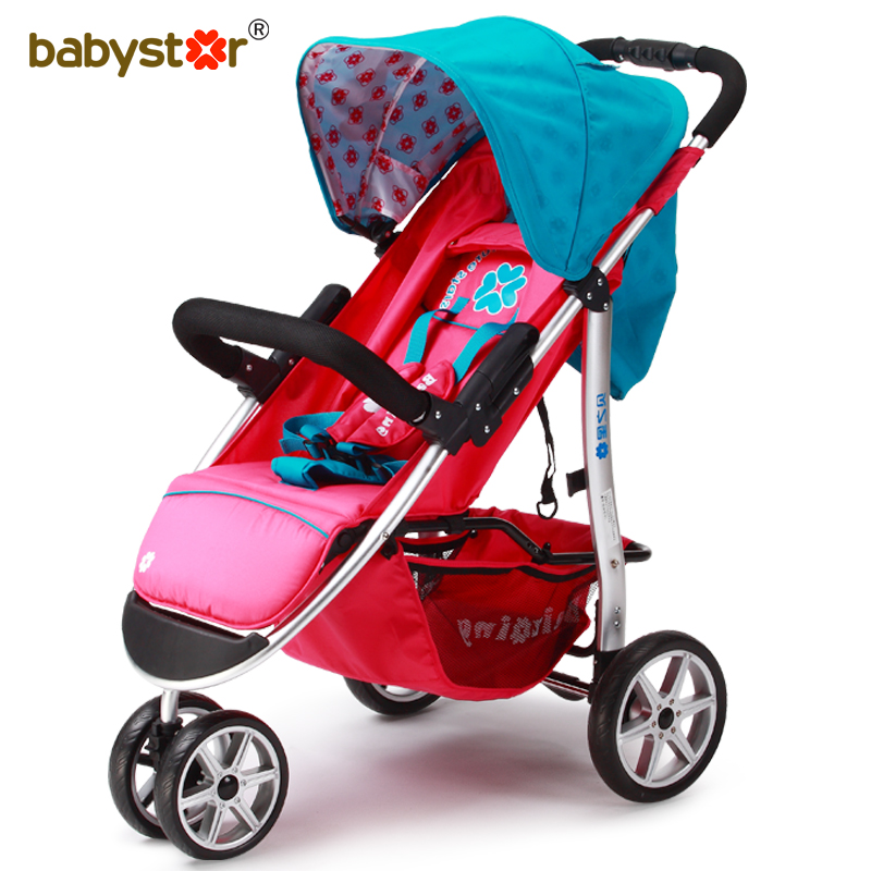 Super light baby stroller send free gifts easy carry with suspension baby car 3 wheels tricycle 2016 portable light easy carry fashion children baby stroller four wheels foldable stroller carry bag 4 color for 0 36 month