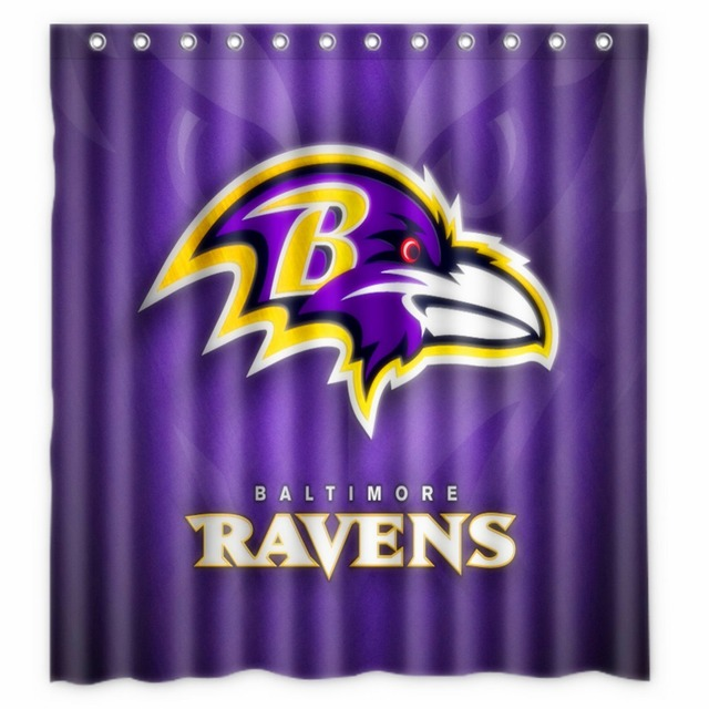 Beau Anime Shower Curtain One Piece Dragon Ball Z Bleach Fairy Tail Naruto  Together Baltimore Ravens Shower