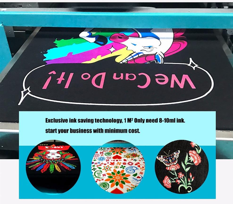 3D direct to garment printer t shirt printing machine with high quality