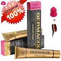 Dermacol Base Makeup 100% Original Cover 30g Primer Concealer Base Professional Dermacol Make up Foundation Contour Palette