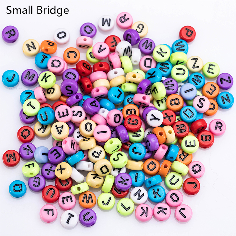 Round Letter Beads1