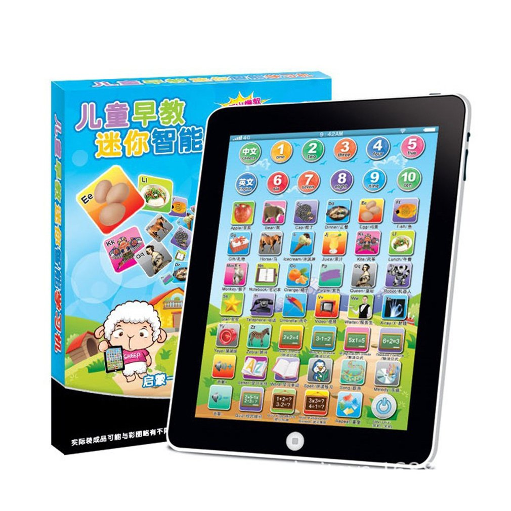 Tablet Toy Computer-Learning-Education-Machine Early-Childhood Gift New For Kid
