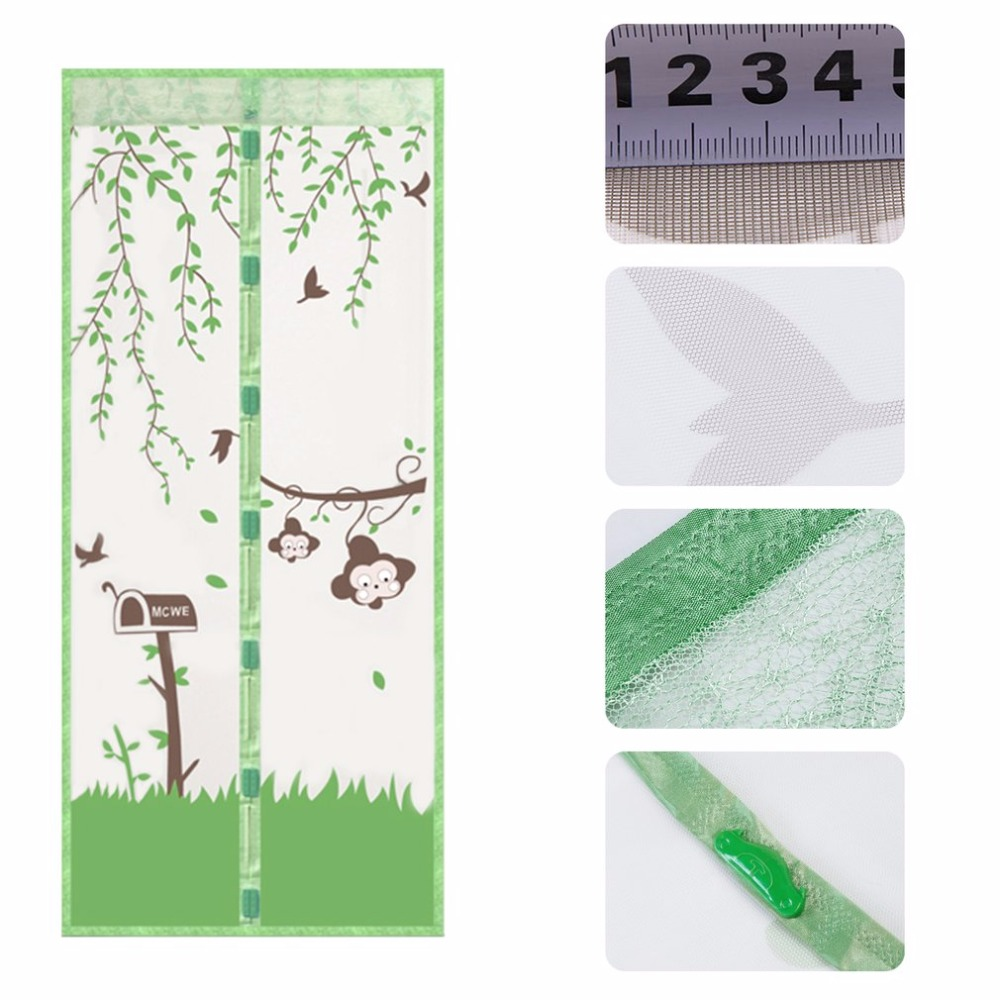 Compare prices on screen door online shoppingbuy low price 1pc best durable magnetic mesh screen door mosquito net curtain protect kitchen window organza screen 90 vtopaller Choice Image