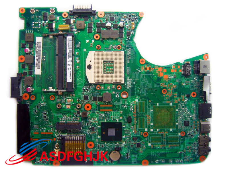 Original FOR Toshiba Satellite L650 L655 LAPTOP MOTHERBOARD A000075380 DA0BL6MB6G1 Test Free Shipping for toshiba satellite l655 l650 laptop motherboard v000218010 6050a2332401 mb a03 1310a2332401