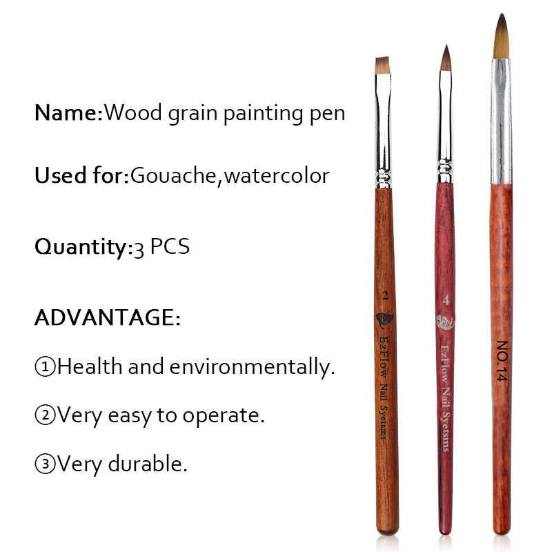 Saviland مسمار فرشاة فنية القلم أكريليك UV جيل للأظافر التمديد منشئ هلام البولندية الرسم اللوحة فرشاة مجموعة القلم ل مانيكير أداة
