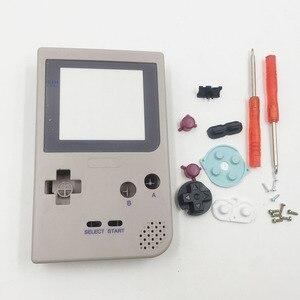 Image 2 - Için DMG 01 Sınırlı Sayıda Gri Tam Konut Shell Düğmeler Mod Onarım Nintendo Game Boy Cep GBP