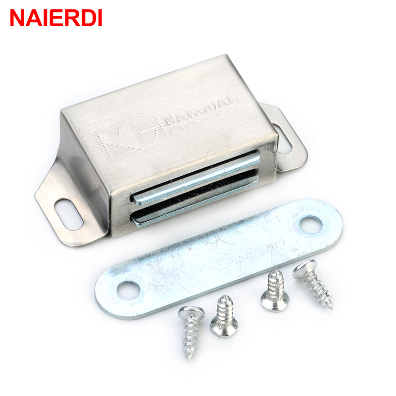 இNaierdi-519 Acero inoxidable magnético Cerraduras para armarios ...