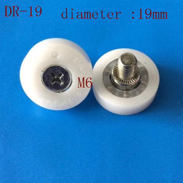 DR19/DR22 Window And Door Glass Shower Rollers With Nylon Bearing