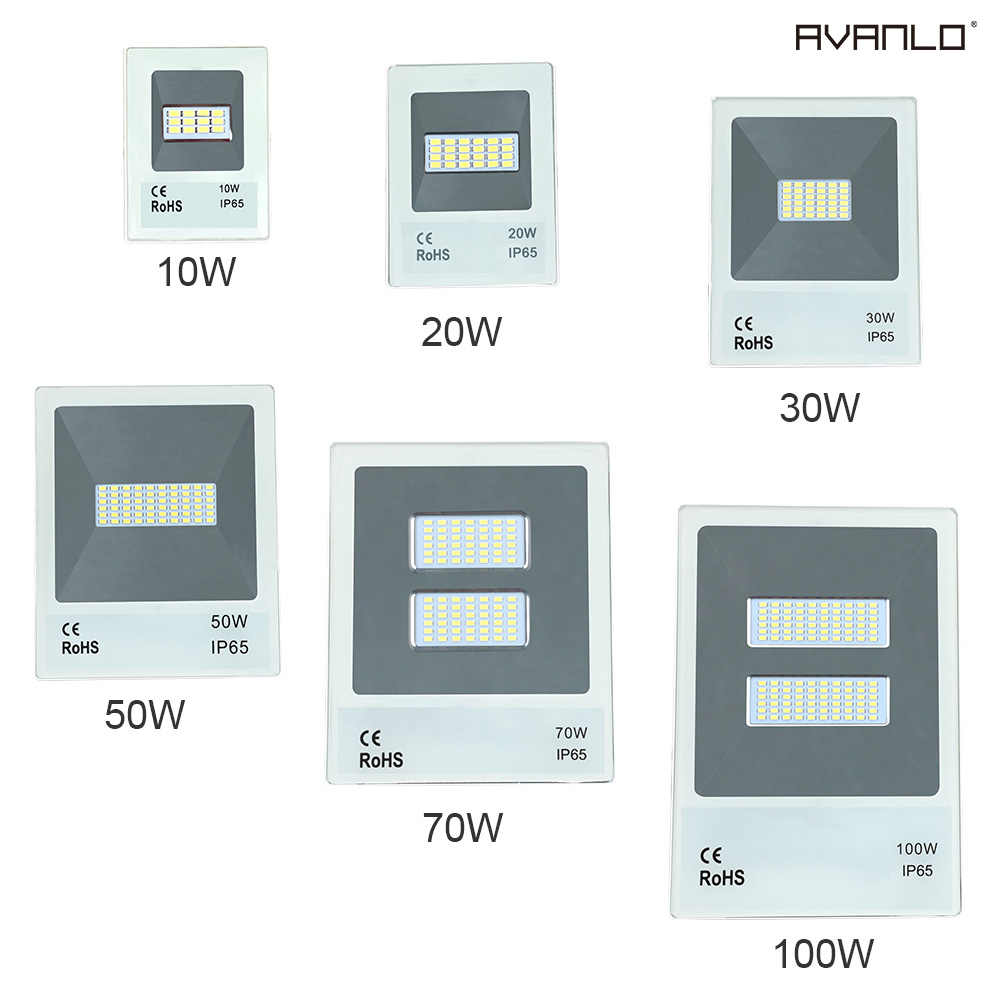 projector ip65 leds waterproof led the reflector of outer door light to floodlight 10W 20W 30W 50W 70W 100W outdoor wall light