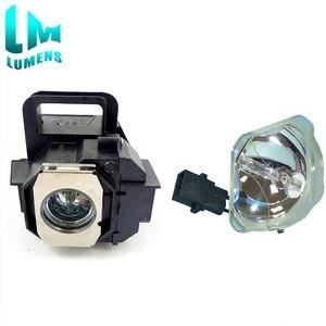 Image 2 - 2 шт. для Elplp49 совместимая неизолированная лампа + лампа с корпусом для V13H010L49 для epson EH TW3200 EH TW3500 TW4000 TW4500