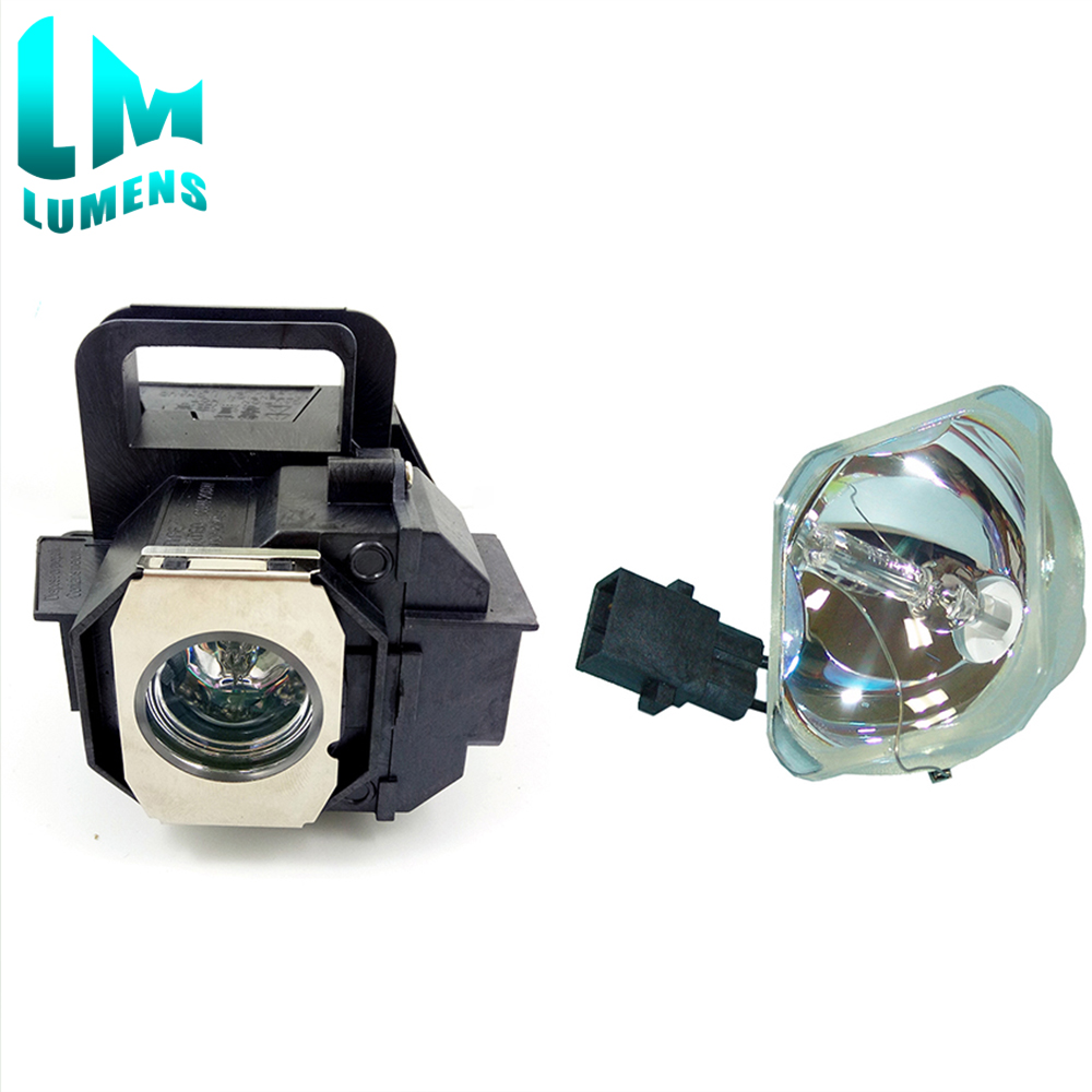 For Elplp49 Compatible Bare Bulb+lamp With Housing(2 Pcs) For  V13H010L49 For Epson EH-TW3200 EH-TW3500 EH-TW3800 TW4000 TW4500