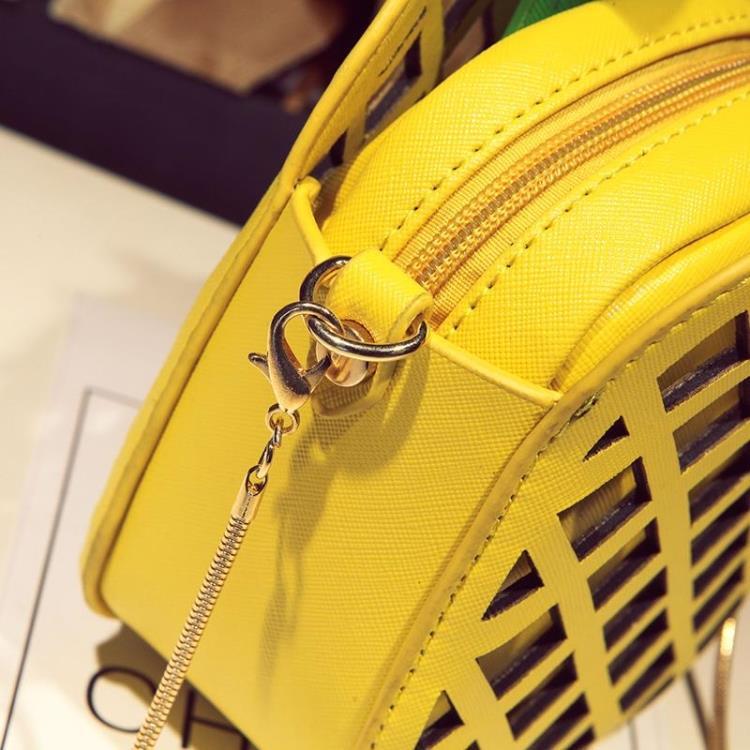 2017 bolso de cuero lindo para las mujeres encantadora piña chica - Bolsos - foto 3