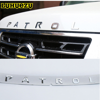 2013 2017 Car Front Rear Body Sticker Cover Emblem Letters For Nissan Patrol Y62 Armada Accessories