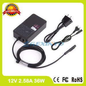 12 V 2.58A 36 W battery Charger for Microsoft Surface Pro 3 Pro 4