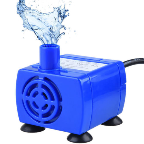 Portable Mini Pet Replacement Water Fountain Pump Submersible Dog And Cat Drinking Fountain Blue #2