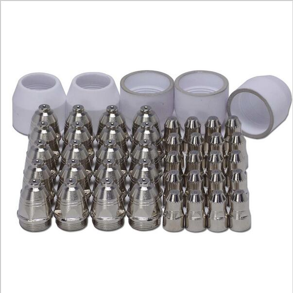 45pcs P80 Panasonic Torch Air Plasma Cutter Cutting Consumables Panasonic 60/80/100Amp SHIELD CUP