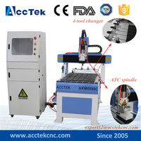 2018 Popular model ! 6090 ATC cnc mini milling machine atc woodworking cnc routers