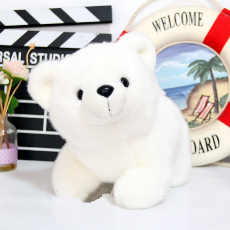 Polar Bear Plush Toys Cute White Bear Dolls Stuffed Cute Animal Soft Plush Toy Peluches De Animales For Children Birthday Gifts