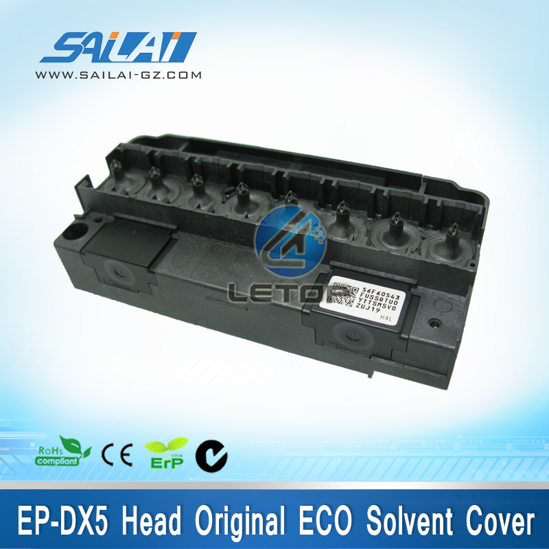 High quality!! Original eco solvent Dx5 printhead cover for inkjet printer new version original non encrypted solvent base oil dx5 printhead for china eco solvent printer