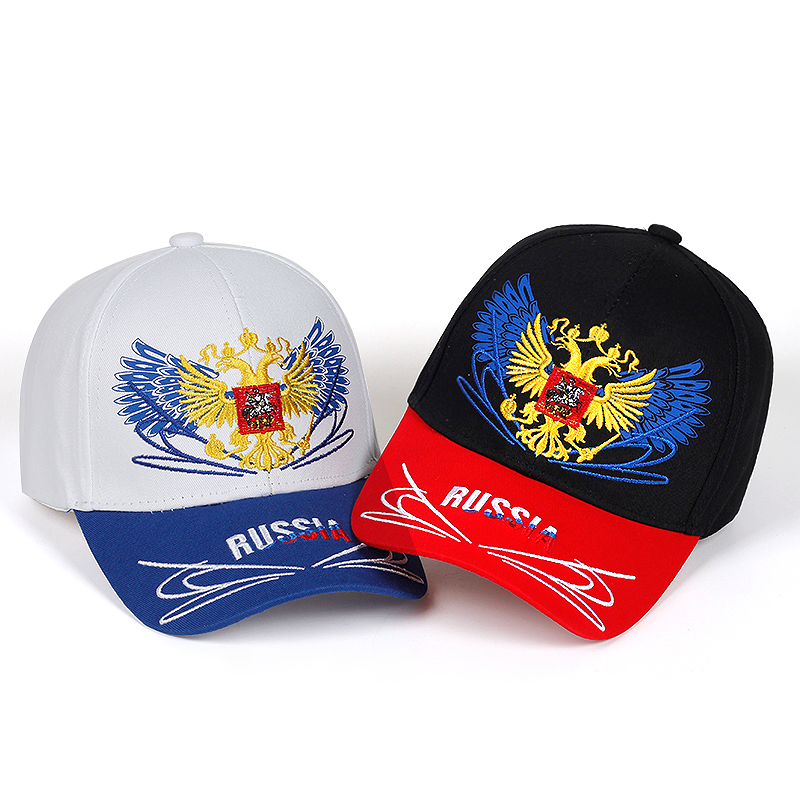 Unisex Outdoor   Baseball     Caps   Russian Flag Embroidery Snapback Fashion Trends Sports Boys Girls Hats Sun Hat High Quality gorras