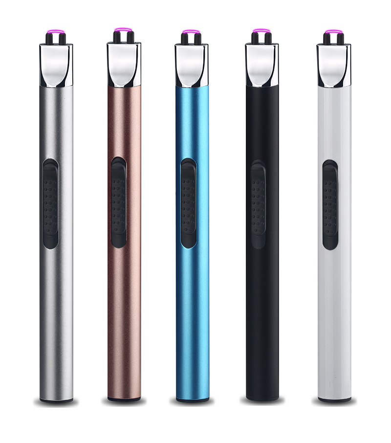 New Usb Rechargeable Arc Plasma Lighter for Kitchen and BBQ Cigarette Tobacco Weed Smoke Drop Shipping