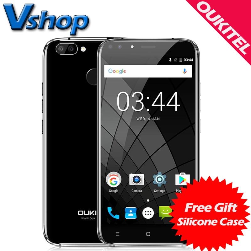 Original OUKITEL U22 3G Mobile Phones Android 7.0 2GB RAM 16GB ROM Quad Core Smartphone 4 Cameras 5.5 inch Dual SIM Cell Phone