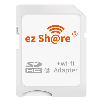 ezshare WiFi SD Card ez share Wireless WiFi TF Micro SD To SD Adapter 8G 16GB 32G Only Support 4GB 8GB 16GB 32GB Microsd Card Memory Cards