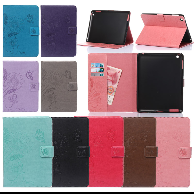 For Cover Apple iPad 2 iPad 3 iPad 4 Smart PU Leather Tablet Case For Apple ipad 2 3 4 Stand Flip Tablet Accessories Y4D66D  2016 new tablet case for apple ipad 4 3 2 flip stand alice in wonderland