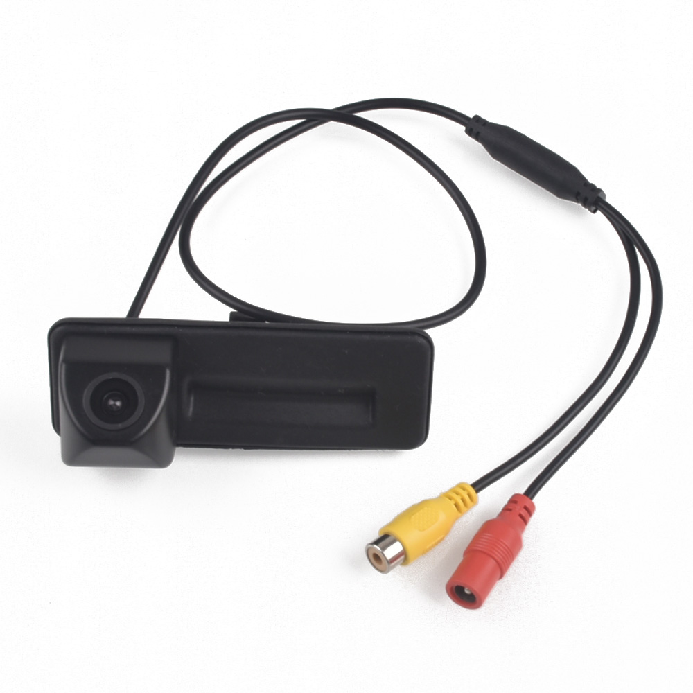 Coffre de voiture poignée caméra vue arrière caméra HD pour Skoda Octavia A5 A7 Rapid Fabia Kodiaq 2010 2012 2013