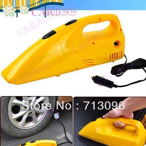 New 2 IN 1 Inflator Air Compressor Portable Handheld Mini Car Vacuum Cleaner Home Dust Collector 5959