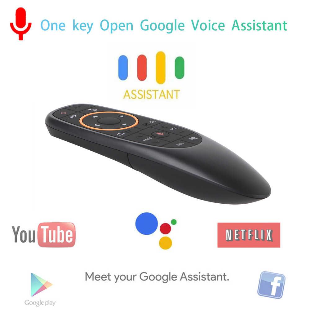 AVATTO G10 голосового Air Мышь с USB 2,4 ГГц Беспроводной 6-осевым гироскопом микрофон ИК-пульт дистанционного управления Управление для Android tv Box, ноутбук, компьютер