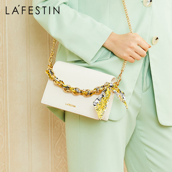LA FESTIN women bag over shoulder Chain small square shoulder bag Crossbody bags for women bolsos muje