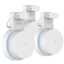 KIWI design  3pack Google WiFi Wall Mount, Google Mesh Holder Without Messy Wires or Screws