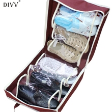 Portable Shoes Travel Storage Bag Organizer Tote Luggage Carry Pouch Holder 1PC