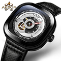 AESOP 9023 Switzerland watches men luxury brand seven skeleton automatic mechanical top quality friday black relogio masculino