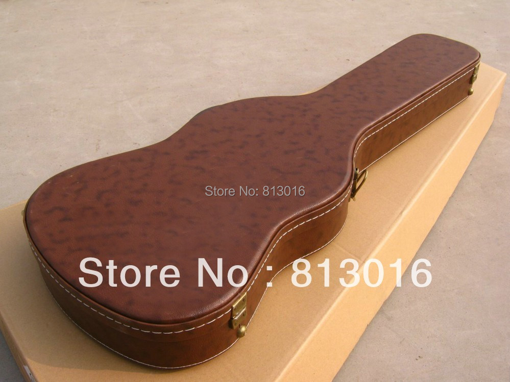 Electric Guitar brown Hardcase Not sell separately ,Sale with guitar together! new electric guitar black hardcase not sell separately sale with guitar together