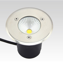 20pcs Free Shipping 3W Waterproof Outdoor Garden Path Floor Light Underground Lamps Buried Yard Lamp AC/DC12V