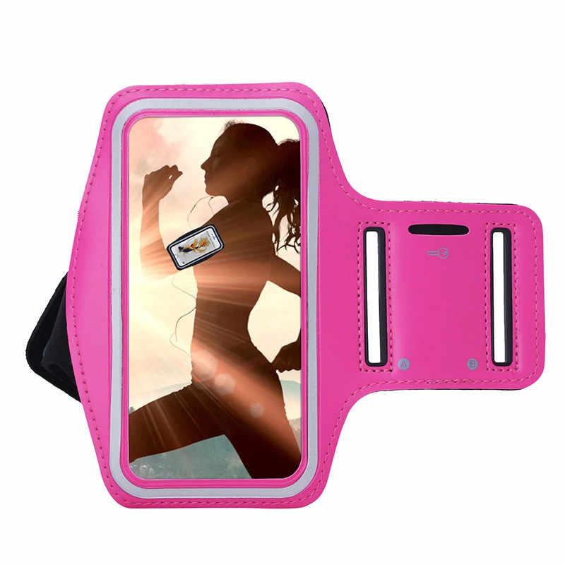 Мобильный телефон нарукавники для спортзала бега Спорта Рука чехол для браслета для Nokia Lumia 550 N550 телефон сумки регулируемая повязка на руку защитный чехол
