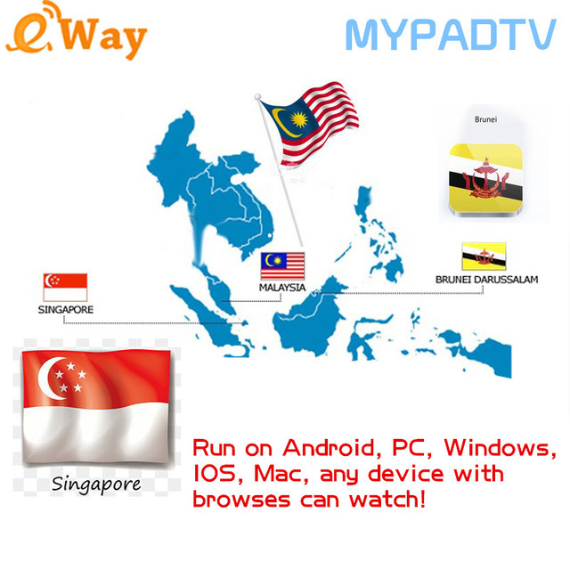 US $9 0 |Aliexpress com : Buy Extra fee For IPTV Box Hot Sell Singapore  Malaysia indoneisa MYPADTV IPTV Subscription VOD For Android Box OR PC from