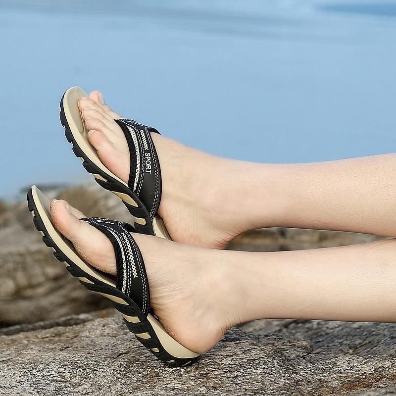 BIMUDUIYU Luksuzni Brand muške Flip Flops Ljeto Moda Sandale Sandale - Muške cipele - Foto 2