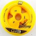 Rodas de patinação de velocidade rodas importa G13 amarelo