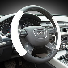 New Car Steering Wheel Cover Universal Anti-SLIP Environmental Pu Leather Sports Style Case,Steering WHEEL COVER,CAR STYLING