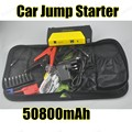 free shipping 10000 Portable Car Jump Starter Power Bank Emergency Jumper Auto Battery Booster Pack Vehicle with 2 USB