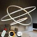 Moderno Pingente Luzes Led Lamparas Lâmpada Luminária de Teto Lustre De Acrílico Deco Luzes Restaurante Luminárias Industriais