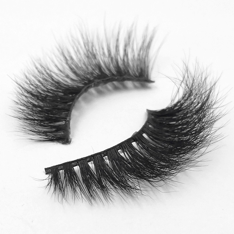 2d1246b471d iflovedekd Natural False Eyelashes Handmade 3D Mink Lashes Extension Women  Makeup Mink Eyelashes 3D-22