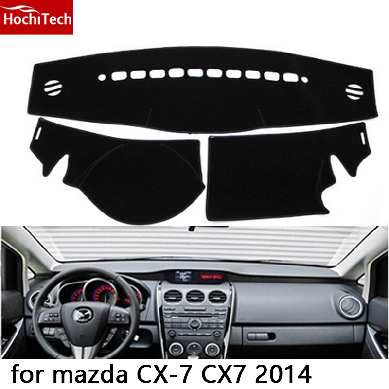 HochiTech for mazda CX-7 CX7 2014 dashboard mat Protective pad Shade Cushion Photophobism Pad car styling accessories mazda cx 7 в томске