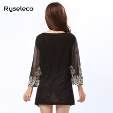 New OEM Factory Sale Women Summer Autumn Vintage Retro Rope Embroidery Heart Paisley Sequined Peacock Mini Shirt Dresses Party